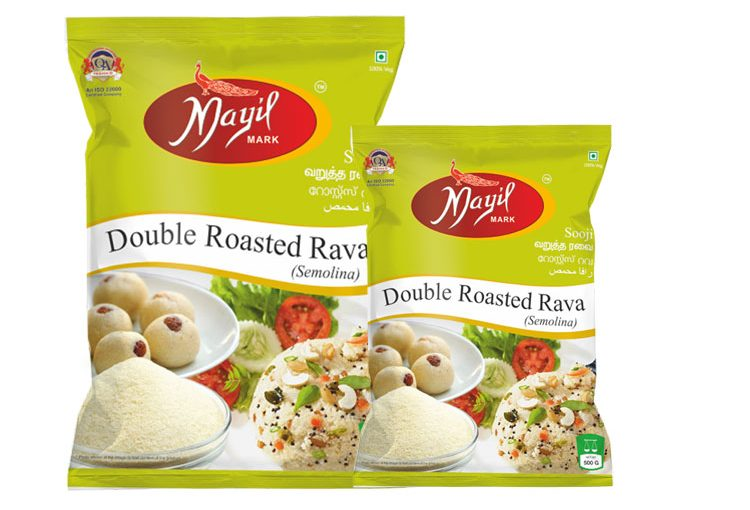 Double Roasted Rava